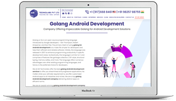 golang for android development
